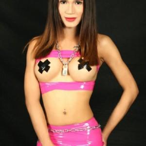 Angelina sensuale elegante giovanissima trans ladyboy asiatica-2