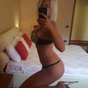Katarina Deepthroat Bella Bionda Orale Scoperto Con Ingoio-3
